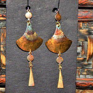 CZech  Earrings By Zina Richterova